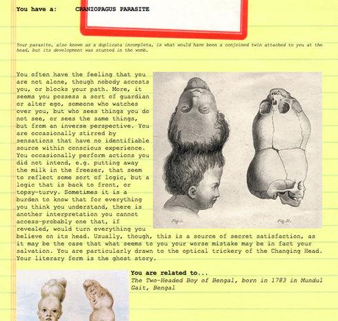Craniopagus Parasite